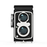 Old Twin Lens Camera Royalty Free Stock Image