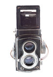 Old twin lens reflex Stock Photography