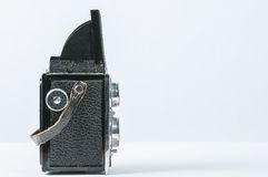 Old Twin reflex Camera Royalty Free Stock Images