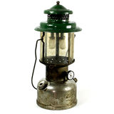 Old Two Mantel Kerosene Lantern Used For Camping Royalty Free Stock Images