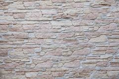 Old type brick wall texture Royalty Free Stock Photography