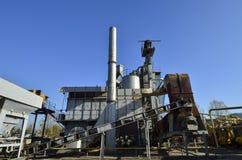 Concrete plant front view Stock Image