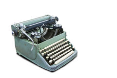 Old type device with clipping path Royalty Free Stock Photography