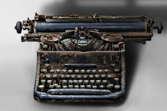 Old type-writer Royalty Free Stock Photos