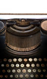 Old type writer Royalty Free Stock Photo