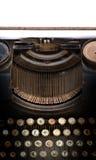 Old type writer Royalty Free Stock Photo