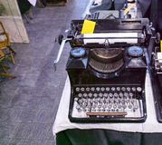 Old type writer Stock Image
