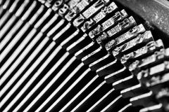 Old type writer Royalty Free Stock Photography