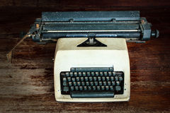 Old typewrite Royalty Free Stock Photography