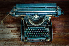 Old typewrite Stock Images