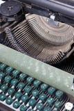 Old typewriter. The look at old typewriter stock images