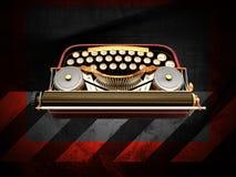 Old typewriter Stock Image