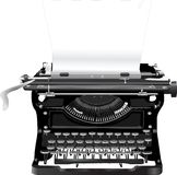 Old typewriter Stock Photo