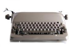 A old typewriter. Picture of an old typewriter Stock Image