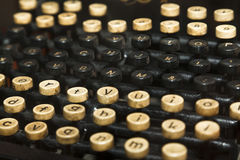 Old typewriter Royalty Free Stock Photography