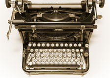 Old typewriter stock photography