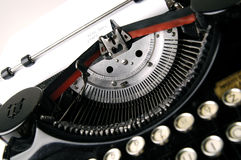 Old typewriter. A close up photo of very old typewriter Stock Images