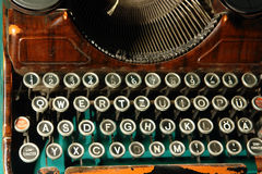 Old typewriter Royalty Free Stock Images