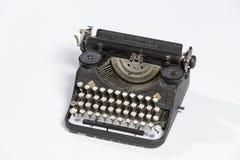 Old typewriter, blank sheet in a typewriter. Stock Image