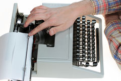 Old typewriter Stock Photos