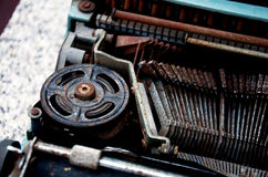 Old Typewriter. Stock Photography