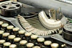 Old typewriter, detail Royalty Free Stock Photos