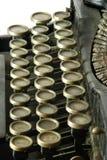 Old typewriter, detail Stock Image