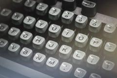 Old typewriter detail Royalty Free Stock Photo