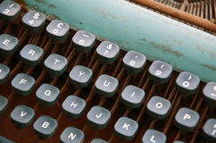 Old Typewriter. Stock Images