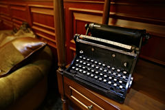 Old typewriter Stock Image