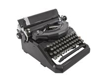 Old Typewriter Isolated Royalty Free Stock Photos