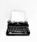Old typewriter isolated Royalty Free Stock Image