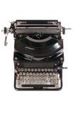 Old typewriter isolated on white Royalty Free Stock Photo