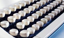 Old typewriter keyboard Royalty Free Stock Image