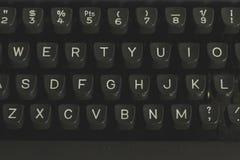 Old typewriter keyword detail Royalty Free Stock Photos