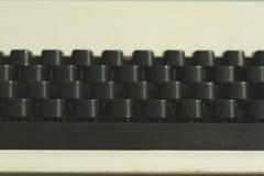 Old typewriter keyword detail Stock Photo
