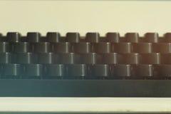 Old typewriter keyword detail Royalty Free Stock Images