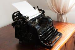 Old typewriter. An old typewriter, macro shot Royalty Free Stock Photos