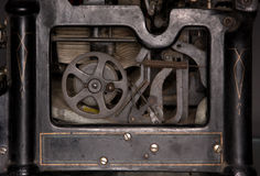 Old Typewriter Mechanism Royalty Free Stock Images