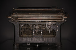Old Typewriter Mechanism Royalty Free Stock Image
