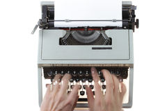 Old typewriter Royalty Free Stock Image