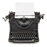 Old typewriter Royalty Free Stock Photos