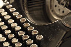 Old typewriter. Photographed in studio environment Royalty Free Stock Photo