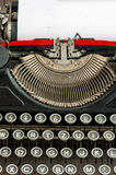 Old typewriter with space for your text Royalty Free Stock Image