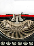 Old typewriter with space for your text Stock Photography