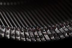 Old typewriter type bars Stock Photo