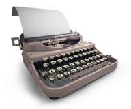 Old typewriter royalty free illustration