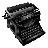 Old typewriting machine. Royalty Free Stock Photography