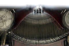 Old typewriting machine - blurred Royalty Free Stock Images