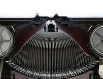 Old typewriting machine Royalty Free Stock Photo